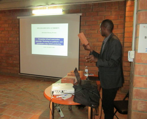 RHA presentation by Mr Nigahezagire Amedee Mechanical Engineer