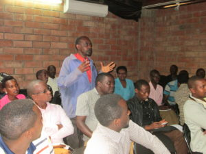 Kigali Safari Participants ask some questions
