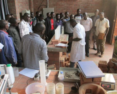 Kigali Safari Participants visit Building Material Center